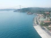 İstanbul Boğazı 8 metre daraldı