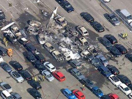 Bin Ladin ailesinin uçağı düştü!