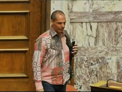 Eski Maliye Bakanı'nın giydiği gömlek olay oldu