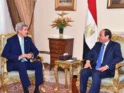 Kerry Ortadoğu turunda Mısır Dışişleri Bakanı Samih Şükri ile görüştü