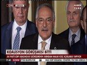 Koalisyon görüşmeleri sonrası Haluk Koç'un açıklamaları