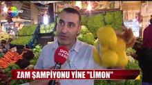 Enflasyonun limonla arası 'limoni'
