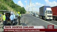 Trafik sigortası zamlandı