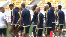 Fenerbahçe antremanda