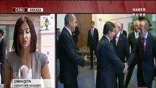 Davutoğlu, AK Parti heyeti ile görüşüyor