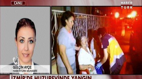 İzmir'de huzurevinde yangın çıktı