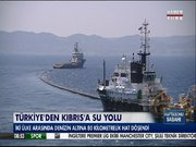 Türkiye'den Kıbrıs'a su yolu
