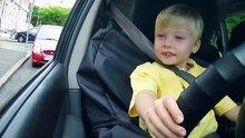 3 yaşındaki taksici
