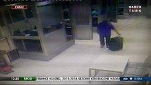 Zekeriya Öz ve Celal Kara'nın güvenlik kamerası görüntüsü
