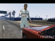 Cristiano Ronaldo'yu GTA 5'in İçerisine Koydular