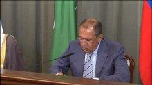 Lavrov açık mikrofonun kurbanı oldu