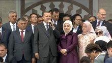 Erdoğan, Kıble Dağı Cami açılışına katıldı