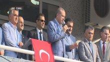 Erdoğan Rize Büyükköy'de konuştu