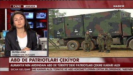ABD de Türkiye'deki patriotları çekiyor