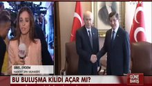 Başbakan Davutoğlu ile Devlet Bahçeli Meclis'te bir araya geldi