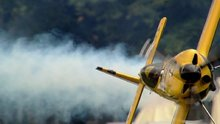Uçak pilotlarından muhteşem şovlar