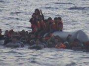 Sahil Güvenlik'in kurtardığı kaçak göçmenler