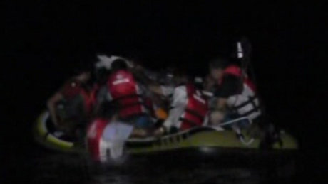 Kaçak mülteci teknesi