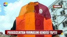 İşçi yeleğinden Sneijder forması yaptı!