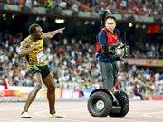 Bolt'u kameraman durdurdu