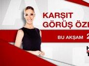 Burhan Kuzu Habertürk TV Karşıt Görüş Özel konuğu
