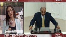 Davutoğlu, Türkeş görüşmesi başladı