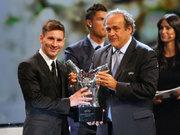 Avrupa'nın en iyisi Messi