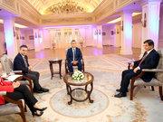 Başbakan Davutoğlu Habertürk'e konuştu