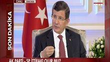 Başbakan Ahmet Davutoğlu Habertürk'te - 4