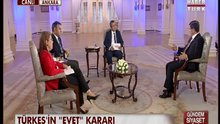 Başbakan Ahmet Davutoğlu Habertürk'te - 2
