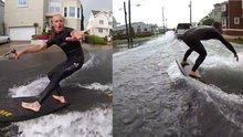 Sokaklarda sörf yapmak