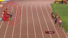 Koşu sırasında su molası
