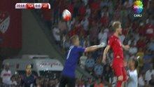 Serdar'in golü ofsayta takıldı