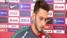 Hakan Çalhanoğlu'nun maç sonu açıklamaları