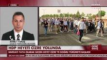 HDP heyeti Cizre yolunda