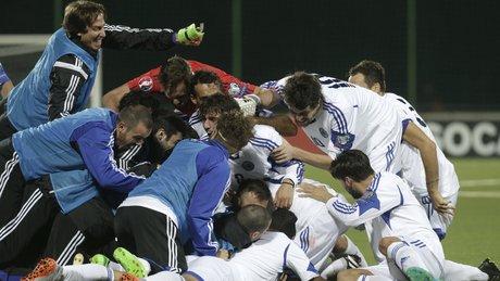 San Marino'yu çıldırtan gol