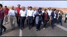 Cizre'ye yürüyen HDP heyeti İdil'e döndü