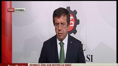 Ekonomi Bakanı Nihat Zeybekci'den önemli açıklamalar