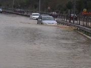 Beykoz'da sel baskını