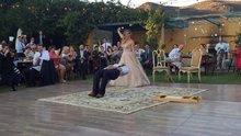 Sihirbaz damattan harika dans gösterisi