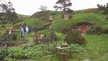 Hobbit köyü'ne büyük ilgi