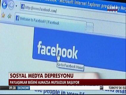Sosyal medya depresyonu