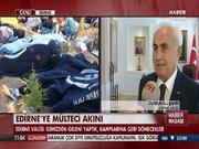 Edirne'ye mülteci akını