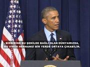 Ebola virüsü Obama