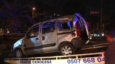 Vatan Caddesi'nde trafik kazası!