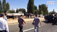 Özel Harekat polisleri kaza yaptı: 2 şehit, 2 yaralı