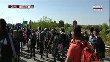 Mültecilerin hedefi Edirne