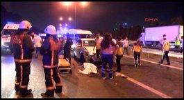 TEM'de zincirleme kaza: 2 ölü