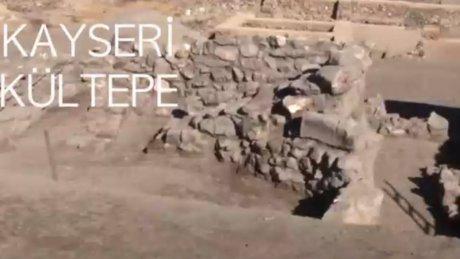 Kültepe'de 4 bin yıllık dev küpler bulundu