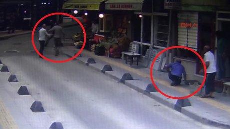Tartıştığı akrabasını sokak ortasında vurdu